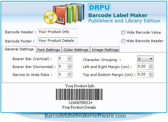 Barcode Software for Publishers