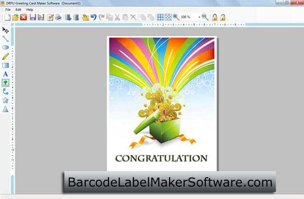 Windows 7 Greetings Card Maker Software 8.2.0.1 full