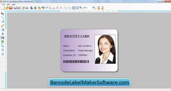 Windows 7 ID Cards Maker Software 8.2.0.1 full
