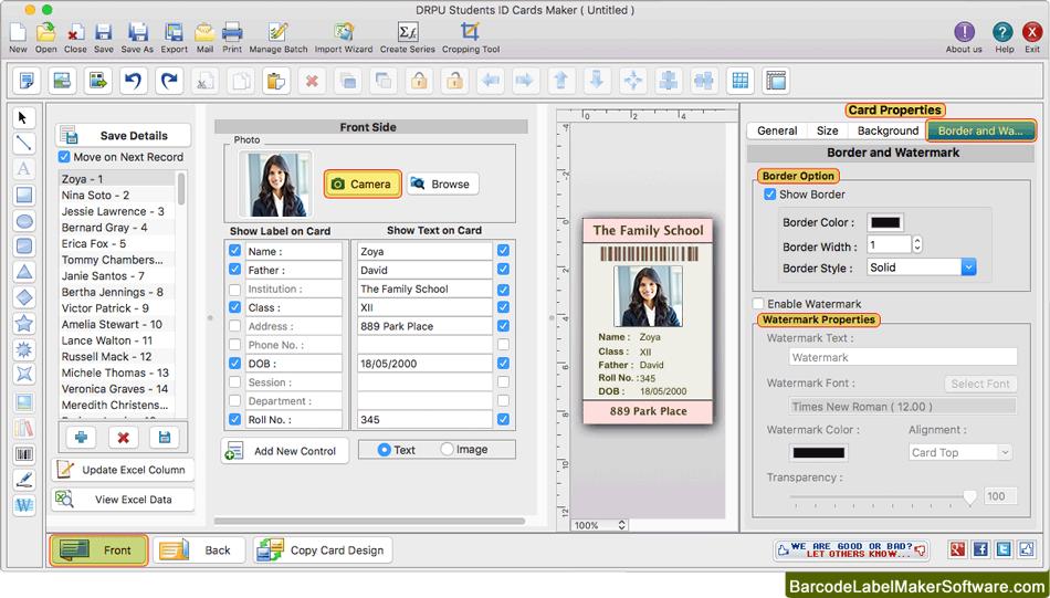 card catalog software for mac